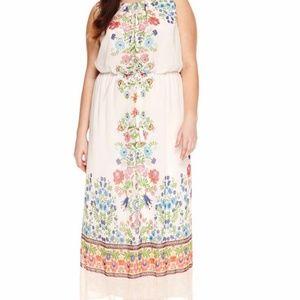 EUC like new JCP Woman 2X maxi dress
